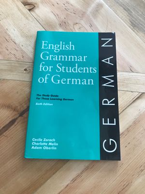 English Grammar of Students of German for Sale in Washington, IL