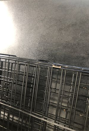 Large dog crate for Sale in Worcester, MA