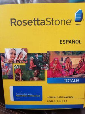 RosettaStone Espanol for Sale in Bothell, WA