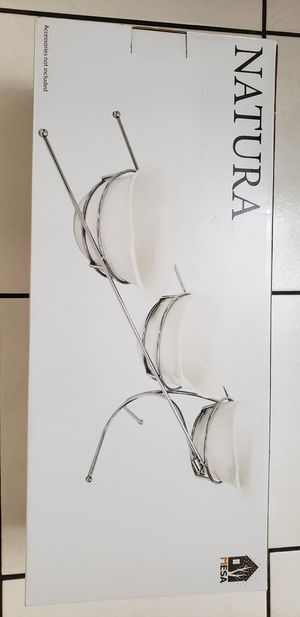THREE PIECES PORCELAIN BOWL SERVERS, BRAND NEW IN BOX for Sale in Chicago, IL