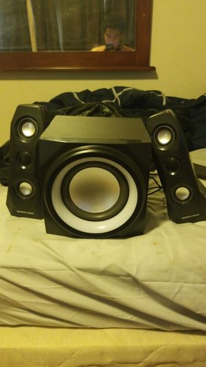 Stereo system, Speakers, LED And Bluetooth enabled. for Sale in Oakland, CA