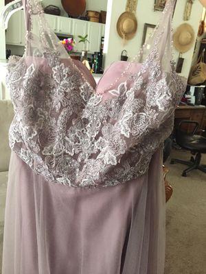 Formal lite purple sz 12 dress for Sale in Port St. Lucie, FL