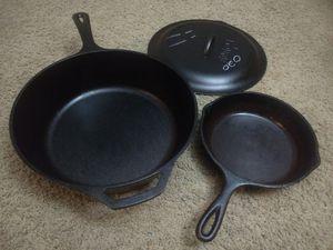 Lodge cast iron skillet for Sale in Naperville, IL