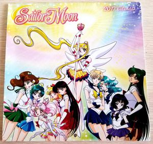 2017 Sailor Moon Mini Monthly Wall Calendar for Sale in Westmont, IL