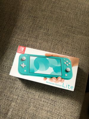 Brand New Nintendo Switch Lite 32GB Console - Turquoise for Sale in Salinas, CA
