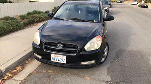Hyundai accent black 2007 for Sale in La Mesa, CA