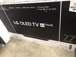 "77"" oled 4k smart of tv for Sale in Norwalk, CA"