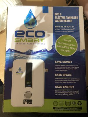 Eco Smart Tankless water heater- Brand New for Sale in Little Elm, TX