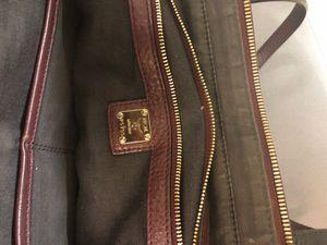 Mcm tote bag (burgundy) for Sale in Los Angeles, CA