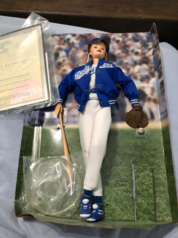 Collectible Dodgers Barbie