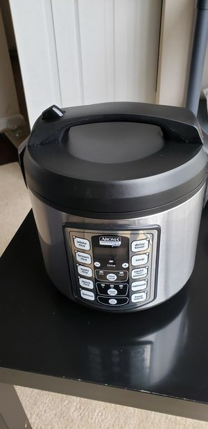 Aroma professional plus rice cooker 20 cup for Sale in Herndon, VA