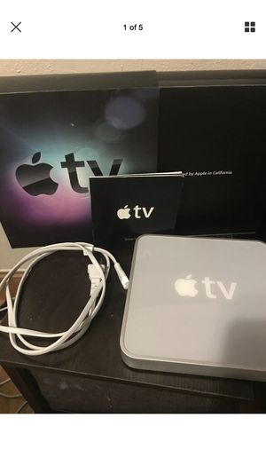 First GEN Apple TV does not include Remote control for Sale in Cambridge, MA