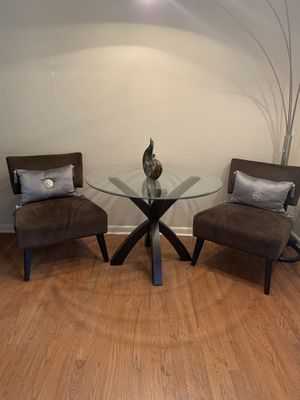 Contemporary Style Glass Dinning Set for Sale in Atlanta, GA