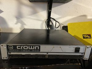 Crown amplifier for Sale in Richmond, CA