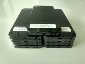 Unlocked iPhone 5 16gb wholesale lot of 10 phones great shape for Sale in North Miami Beach, FL