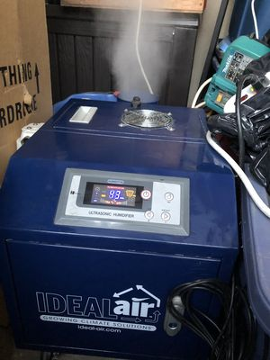 Hydroponics The Ideal-Air™ Pro Series Ultra Sonic Humidifier is designed for Sale in Garden Grove, CA