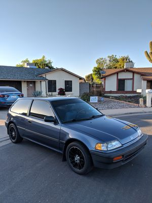 1989 Honda Civic hatchback- Near perfect for Sale in Mesa, AZ