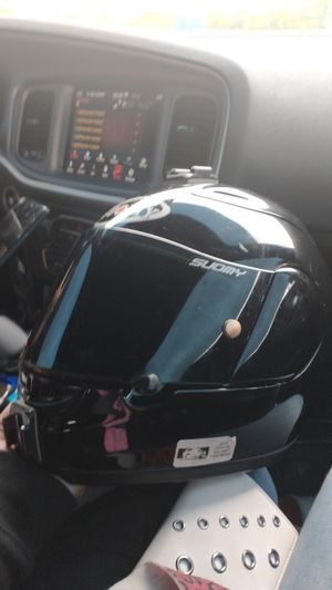 Suomy motorcycle helmet perfect condition medium. for Sale in Goodlettsville, TN