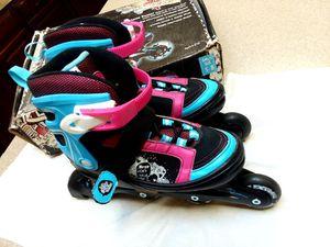 Kryptonics Girl's Sparkle Adjustable Inline Skates shoes for Sale in Mesa, AZ