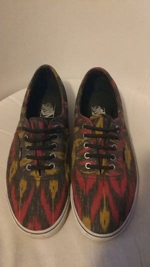 Limited Edition SIZE 10 Rasta Vans in great condition for Sale in Tallahassee, FL