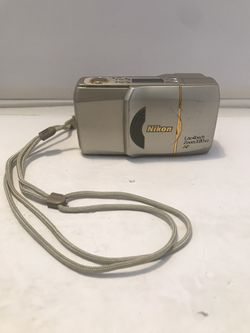 Nikon Lite Touch Zoom 120 ED AF 35mm Point & Shoot Film Camera W/ New Battery for Sale in Carpentersville,  IL
