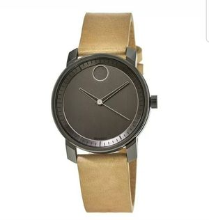 BRAND NEW - Movado Bold - Grey Dial Beige Leather Men's Watch (3600487) for Sale in Panama City, FL