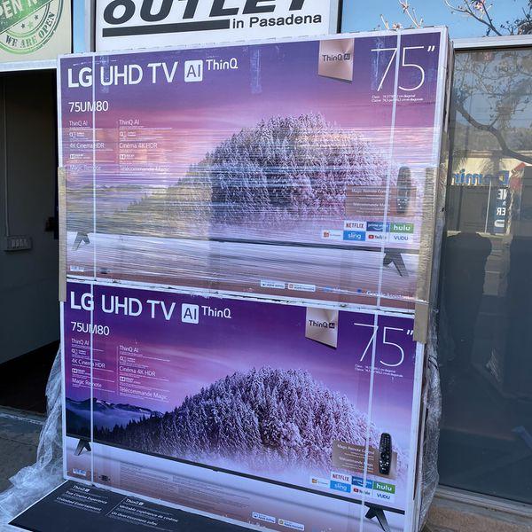 75 INCH LG UHD TV AI THIN Q SMART 4K TVS GAMING TV HUGE SALE
