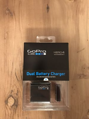 GoPro 4 Duel Battery Charger and Battery for Sale in Cheney, WA