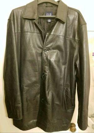 GAP Brand Genuine Leather Jacket - size XL/XXL for Sale in San Francisco, CA