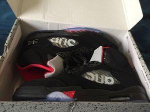 "Air Jordan ""Supreme"" 5s Size 9.5 for Sale in Lanham, MD"