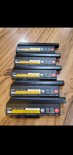 Original 94Wh 29++ Lenovo Batteries 5 for $30. for Sale in San Lorenzo, CA