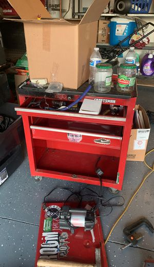 Craftsman Hardware Drawer Mobile Storage Cabinet for Sale in Perris, CA