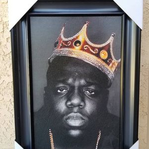 Notorious B .I .G Wall Decor 21.5x15.5 Inches for Sale in Camarillo, CA