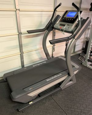 NordicTrack X9i Incline Trainer Treadmill Walk/Run/Jog Exercise Machine Workout Fitness Trail Hike for Sale in San Dimas, CA