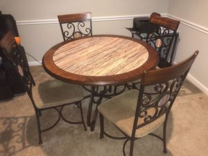 Dinning Room table with 4 Chairs for Sale in Boyds, MD