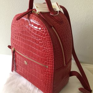 Tory Burch Red Backpack New for Sale in Woodinville, WA