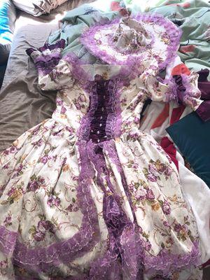 Victorian women's Halloween costume size 8 for Sale in Renton, WA
