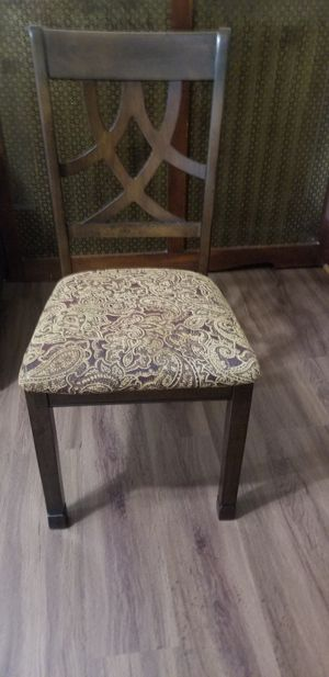 Brand 2 new Ashley chairs+free table for Sale in Queens, NY
