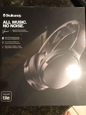 Skullcandy - Venue Wireless Noise Cancelling Over-the-Ear Headphones - Black for Sale in Land O Lakes, FL