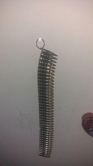 Authentic bullet belt, 5.56 NATO rounds for Sale in Las Vegas, NV