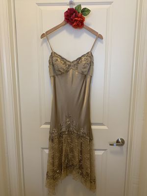 1920's Style Champagne Dress (US 8) for Sale in Cedar Park, TX