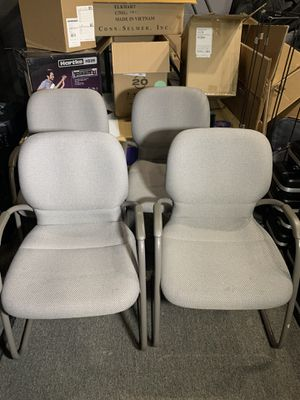 Steelcase waiting room / reception chairs set of 4 for Sale in Pittsburgh, PA