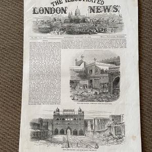 Illustrated London News 1858 for Sale in Middletown, CT