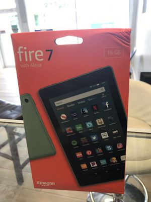 Fire 7 with Alexa amazon 16GB for Sale in Lake Worth, FL