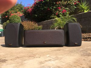 Polk Audio RM6750 Surround Sound Speakers for Sale in Carlsbad, CA