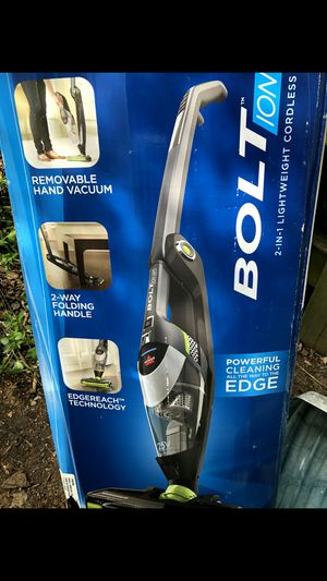 Brand new bolt 2 in 1 powerful cleaning vacuum with swivel head and lights on it for cleaning corners thanks cost $159 I'm asking for $80.00 for Sale in Rockville, MD