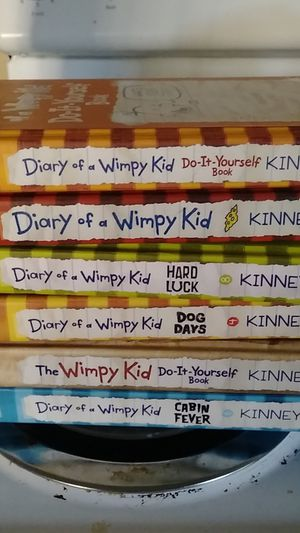 Diary of a winpy kid hard back books for Sale in Aberdeen, WA