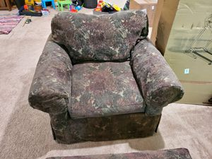 Arm chair with ottoman for Sale in Chesterbrook, PA