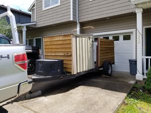 Heavy duty toy hauler/ utility trailer for Sale in Milwaukie, OR