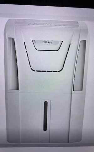 danby brand Dan t 60 pint two speed energy star dehumidifier w auto restart and pump DDR60A3GP for Sale in Wake Forest, NC